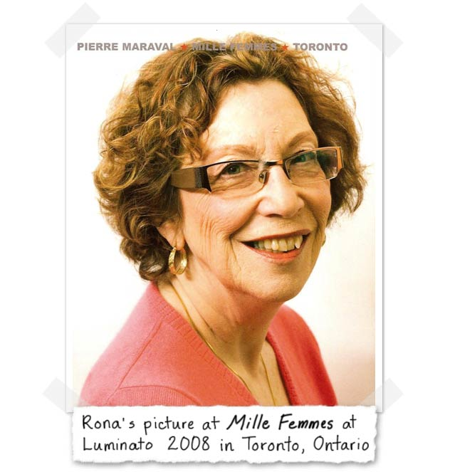 Rona's picture at Mille Femme at Luminato 2008 in Toronto, Ontario